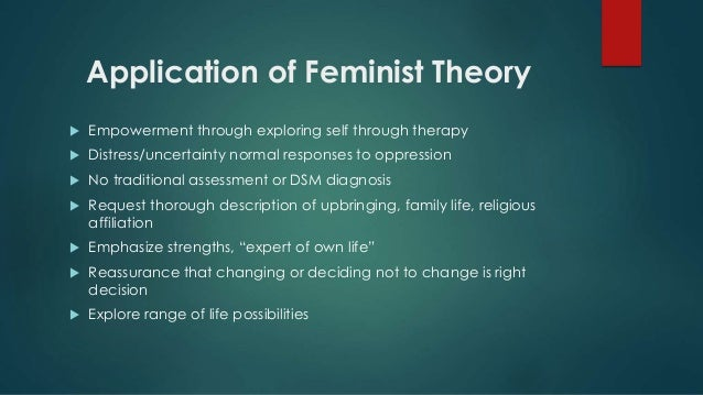 an analysis of the feminism theory Marxism, feminism and women's liberation  the analysis of rape by susan  third wave feminism in the 1990s stripped the theory of patriarchy of its.