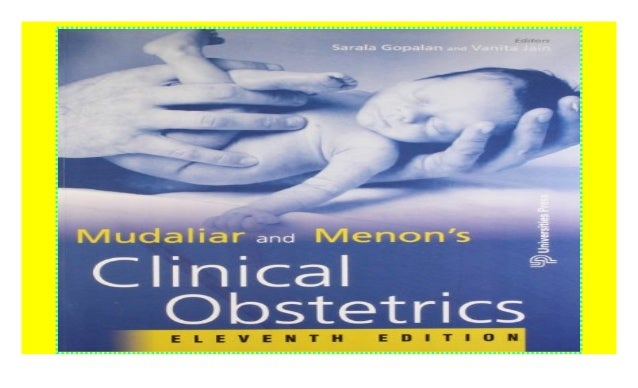 mudaliar and menons clinical obstetrics 12th edition pdf free download
