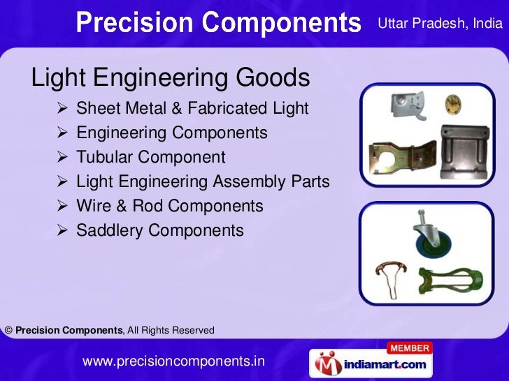 Uttar Pradesh, India     Light Engineering Goods             Sheet Metal & Fabricated Light             Engineering Comp...