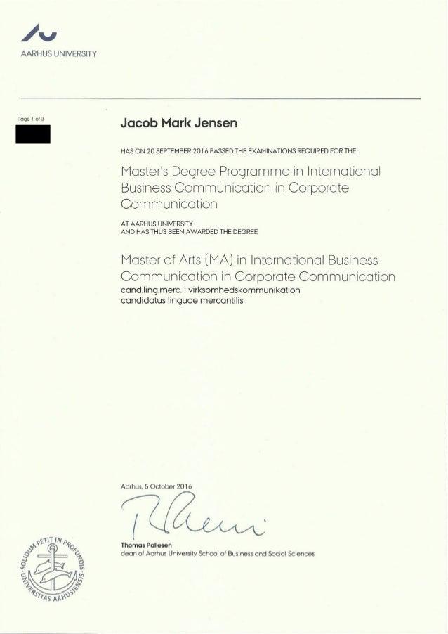 diploma corporate communication ma diploma corporate communication