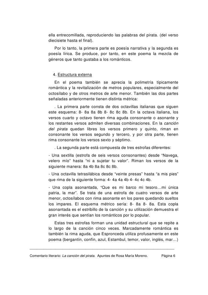 44714841 Comentario Literario De La Cancion Del Pirata