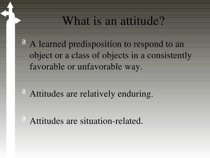 Forming attitudes