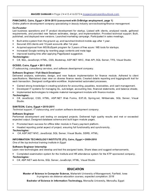 net developer resume C# net -web developer - sample resume -i intranets, client-server and web based software applications using microsoft technologies including primary skills asp.