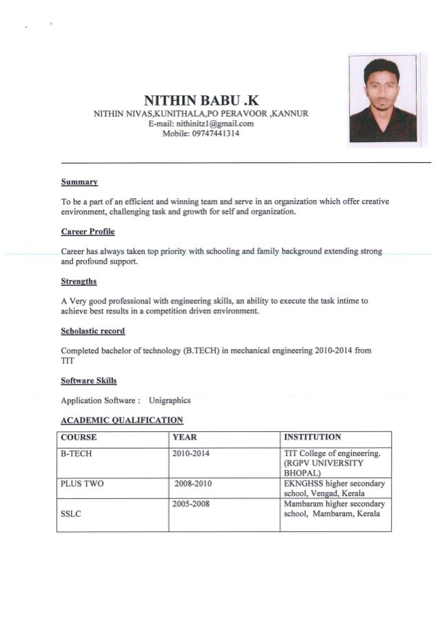 CV & details