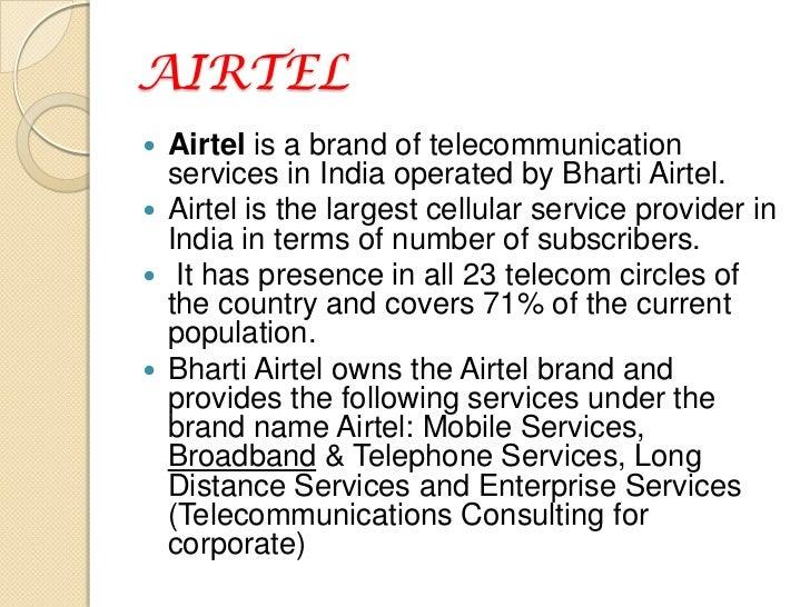 It factors airtel