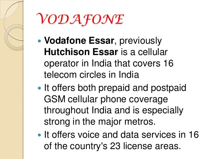 customer satisfaction on telecom airtel vs vodafone A study on customer satisfaction with reference to improving the telecom industries' service quality on the quantitative level vodafone, airtel & bsnl of.
