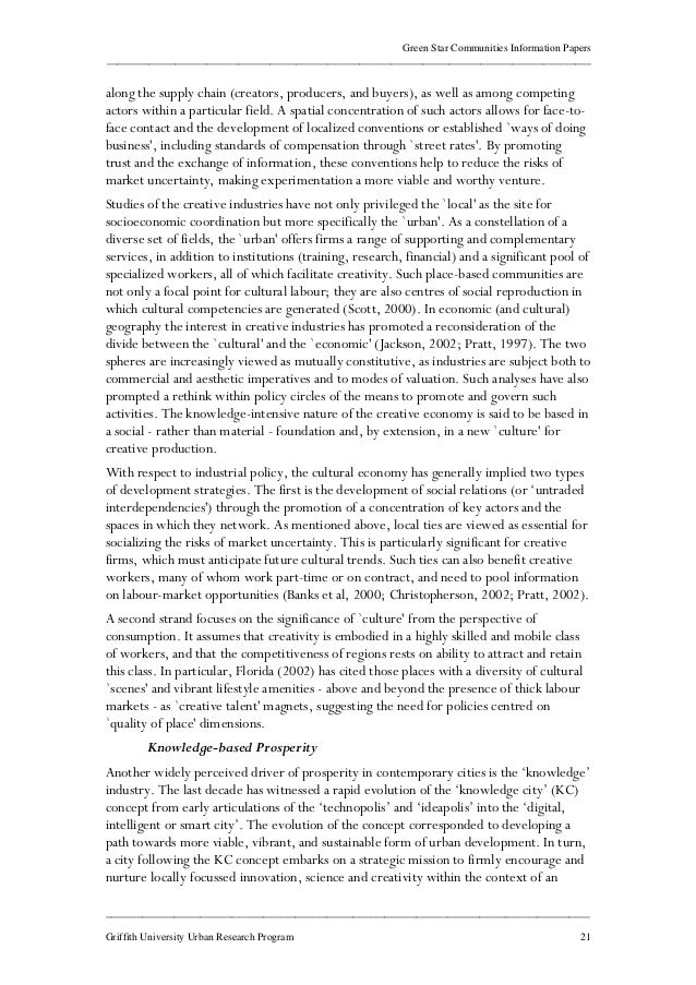 think green community essay In this short essay, i offer a broad overview of some key issues that come up  when thinking about the role of private investment in (re)developing sustainable  cities  such as wind energy production, or green building development,   investable deals, either through community engagement or financial.