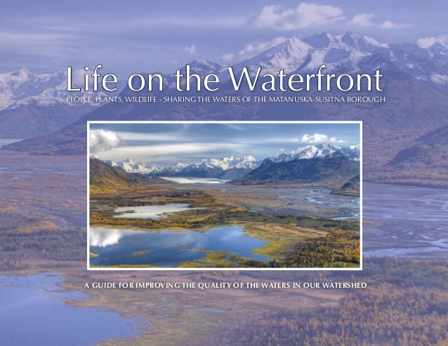Life on the Waterfront  PEOPLE, PLANTS, WILDLIFE - SHARING THE WATERS OF THE MATANUSKA-SUSITNA BOROUGH  A guide for improv...