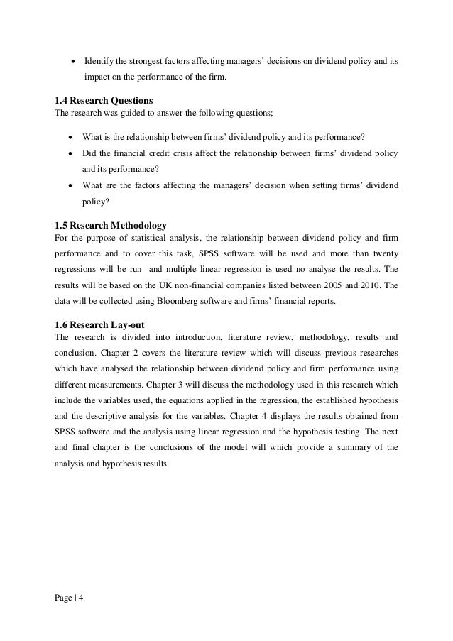 articles on dividend policy pdf