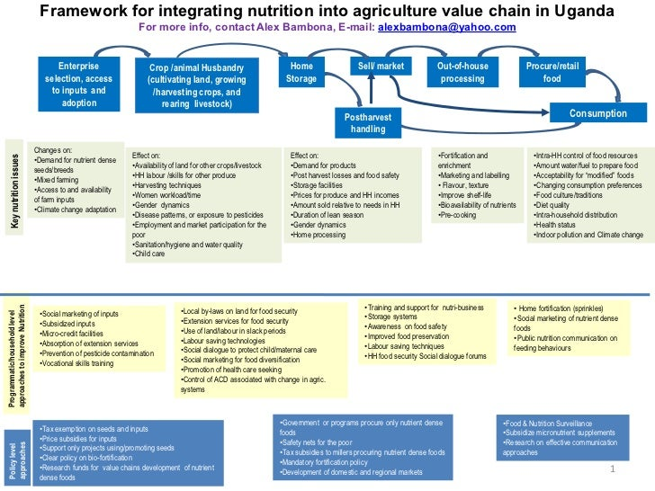 importance of integrated nutrition and food security projects Sustainable agricultural practices and food systems, including both production and consumption, must be pursued from a holistic and integrated perspective land, healthy soils, water and plant genetic resources are key inputs into food production, and their growing scarcity in many parts of the world makes it imperative to use and manage them.