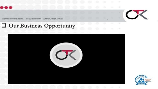  Our Business Opportunity