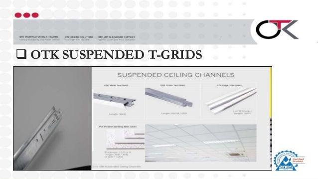  OTK SUSPENDED T-GRIDS