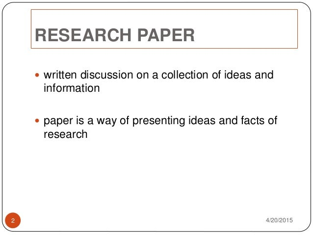 Write my research paper get it published