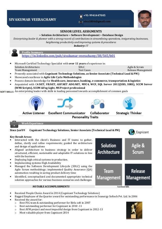 SENIOR LEVEL ASSIGMENTS ~ Solution Architecture ~ Software Development ~ Database Design Enterprising leader & planner wit...