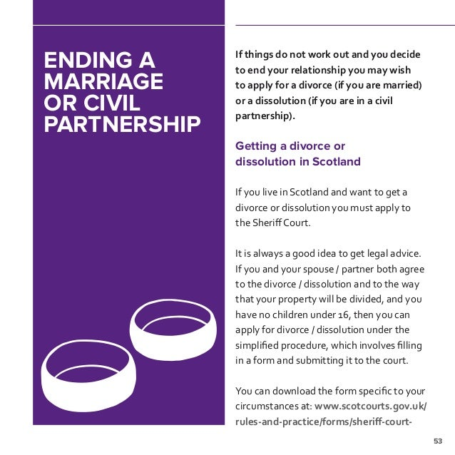 Marriage and civil partnership in scotland support available if your relationship goes wrong 55 solutioingenieria