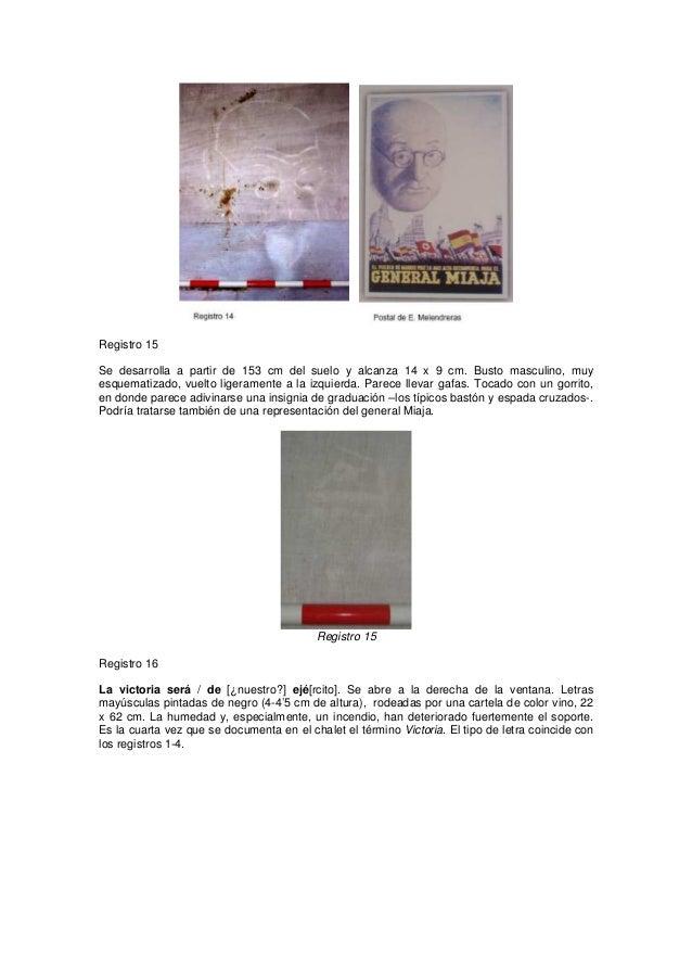 Registro 15 Se desarrolla a partir de 153 cm del suelo y alcanza 14 x 9 cm. Busto masculino, muy esquematizado, vuelto lig...