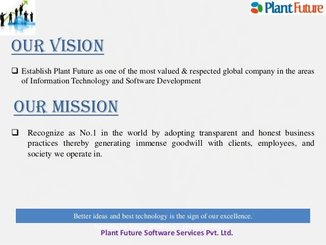 mission and vision statement of ariel pvt ltd