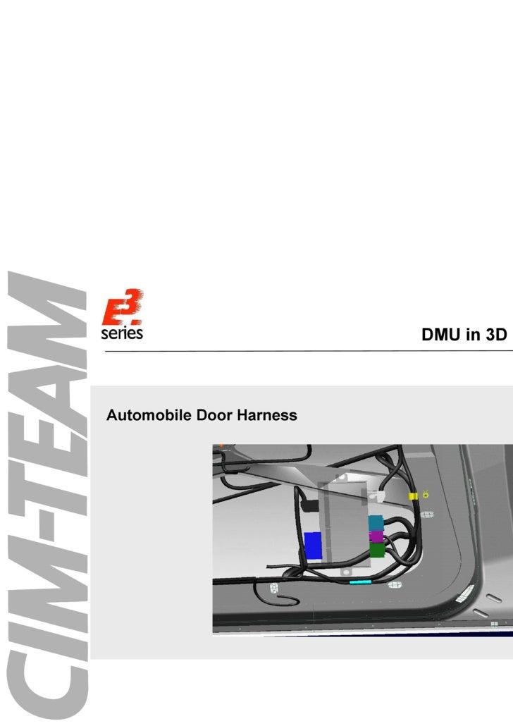 DMU in 3D Systems <ul><li>Automobile Door Harness </li></ul>