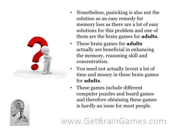 brain games for adults pdf