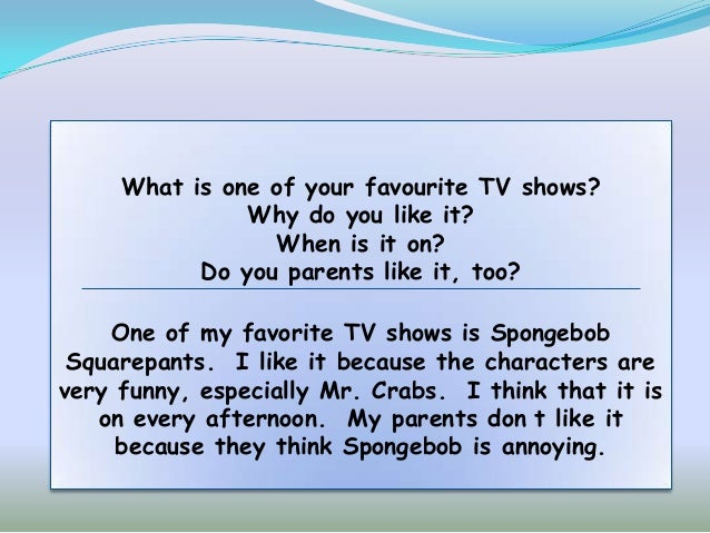 mentioning tv shows in essays Free essays on conclusion on reality shows whether it is news, documentaries, films or reality tv shows mentioning the following.