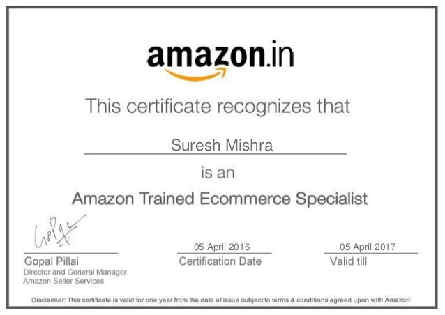 ATES – Start and Manage Business on Amazon_Course Certificate