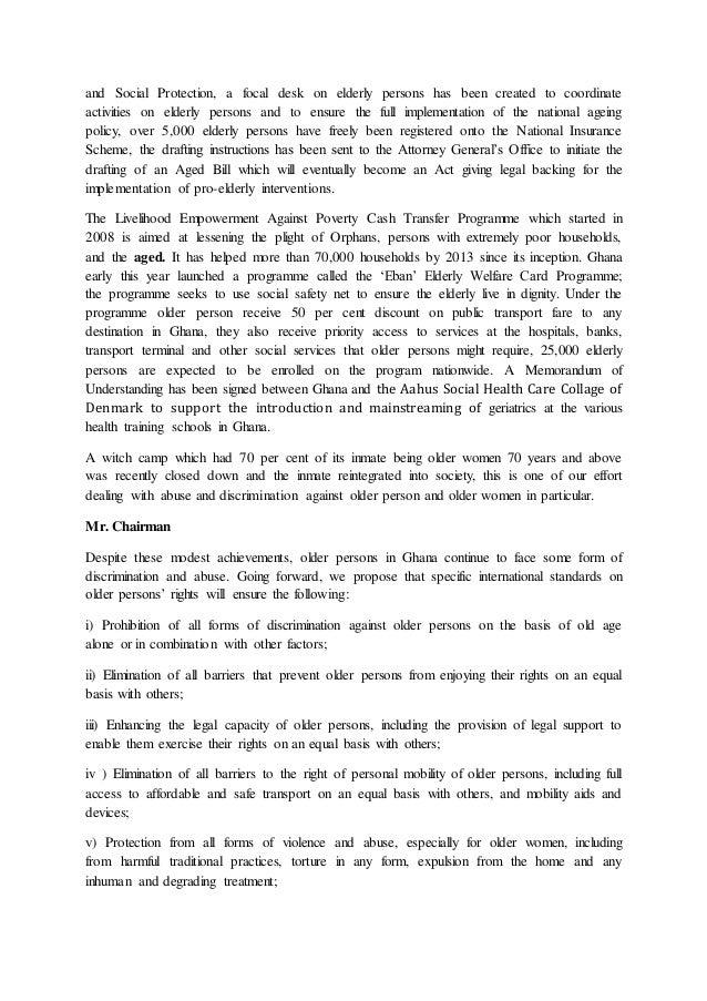 Ghana Statement Slide 3