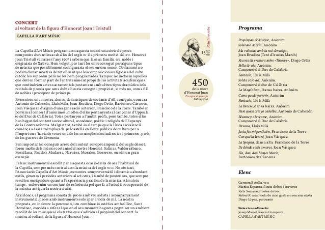450 aniversari d'honorato juan Slide 2