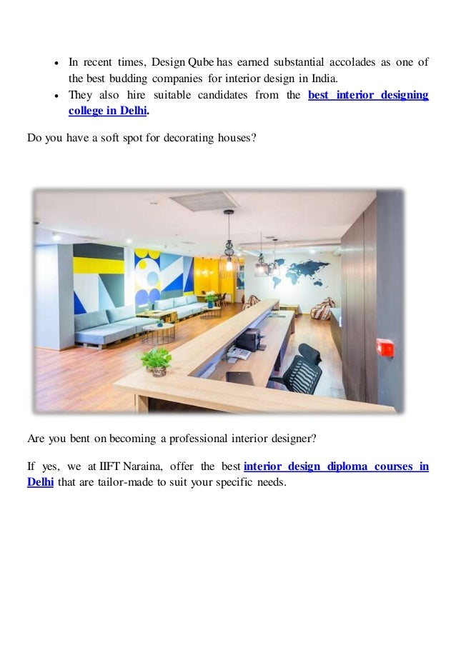 Top 4 Interior Design Companies You Can Aim To Have A Thriving Career