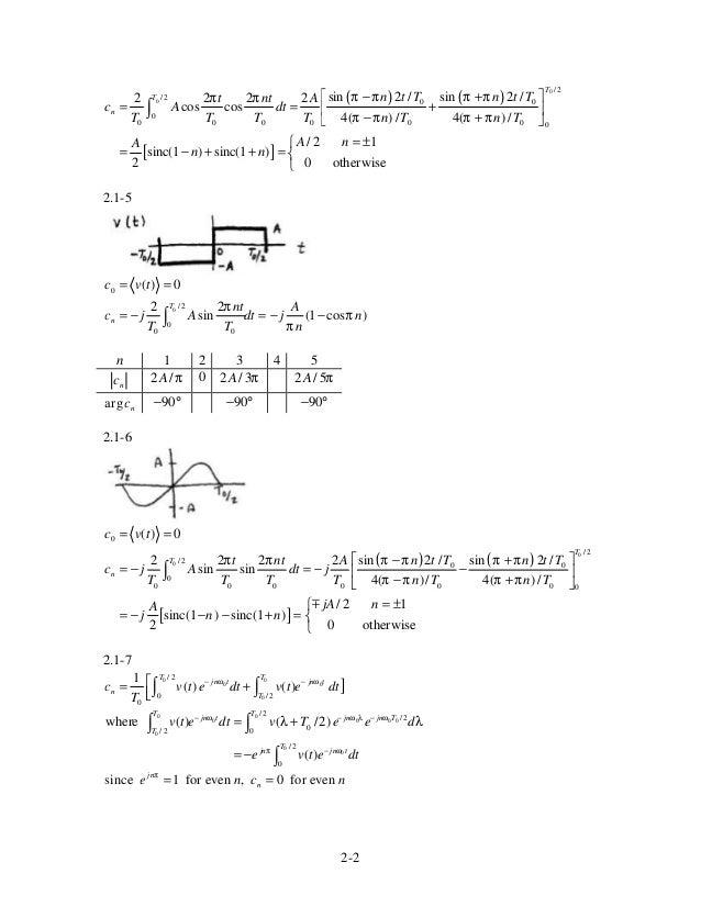 Solution Manual Of Satellite Communication By Dennis Roddy Epub