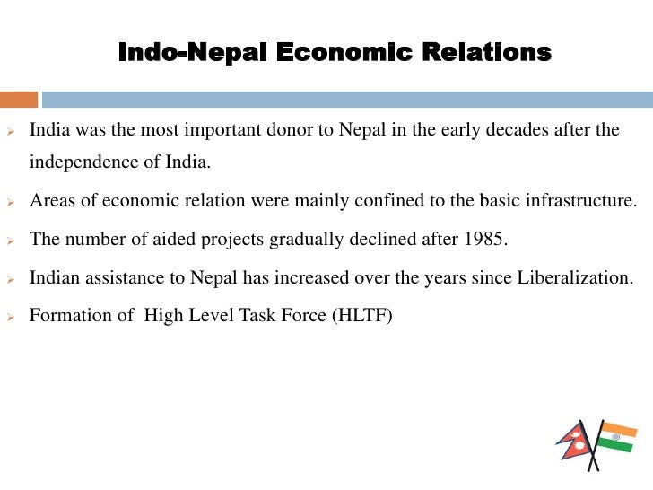 economic relationship between india and nepal crisis