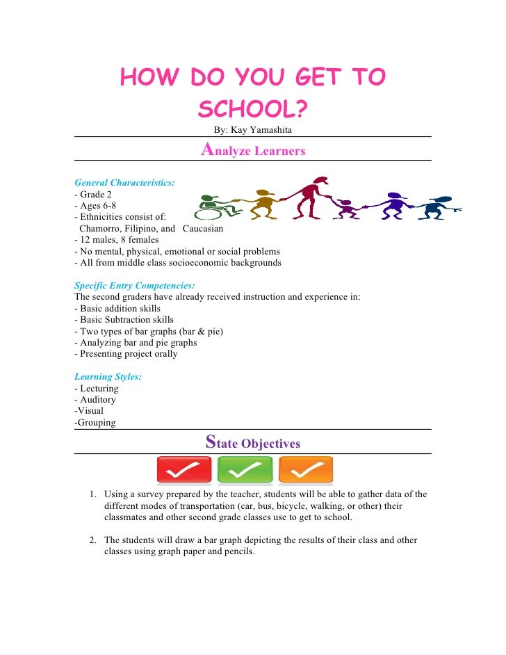 HOW DO YOU GET TO                SCHOOL?                                   By: Kay Yamashita                              ...