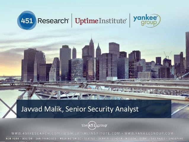 Javvad Malik, Senior Security Analyst