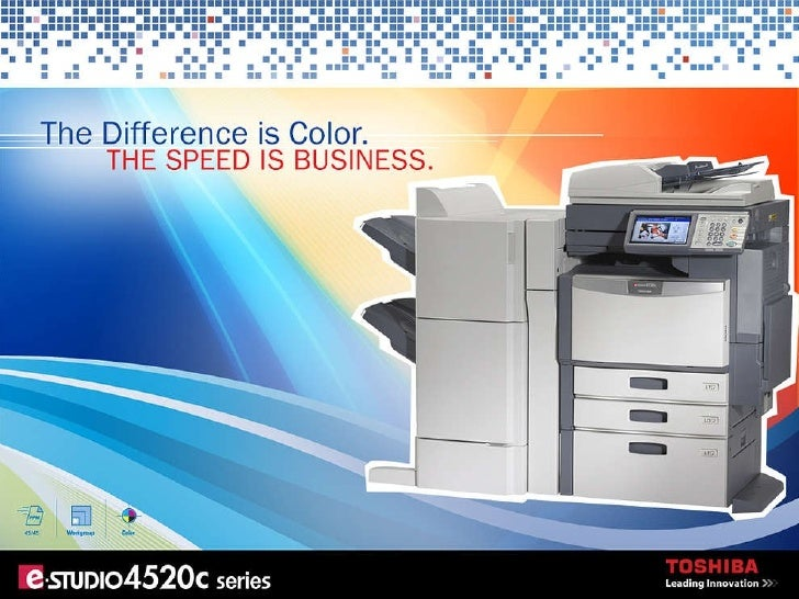EStudio 4520c Color MFP Presentation
