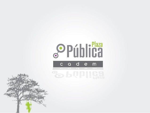 24 Abril 2015 Estudio N° 67 Track semanal de Opinión Pública