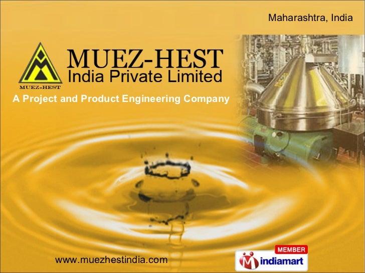 A Project and Product Engineering Company Maharashtra, India