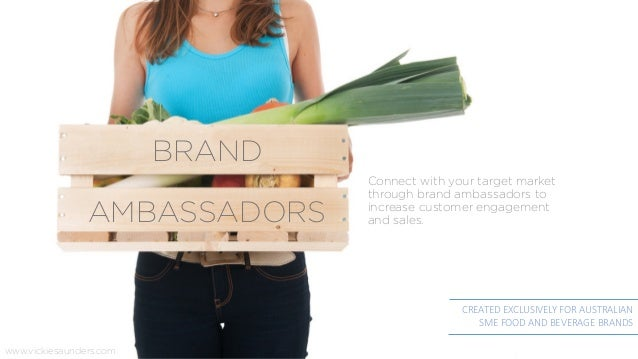 Connect with your target market through brand ambassadors to increase customer engagement and sales.AMBASSADORS CREATED EX...