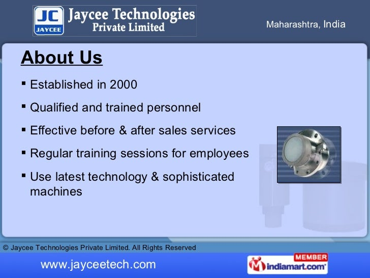 Level Switches by Jaycee Technologies Private Limited Pune Slide 2