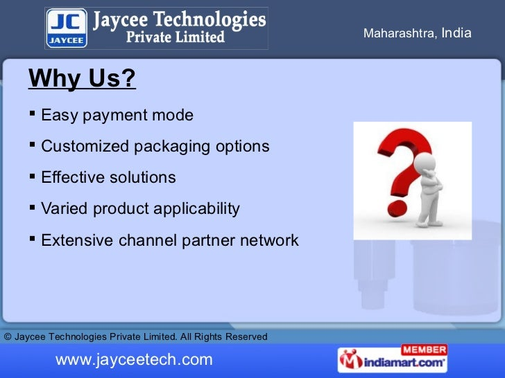 Level Switches by Jaycee Technologies Private Limited Pune Slide 3