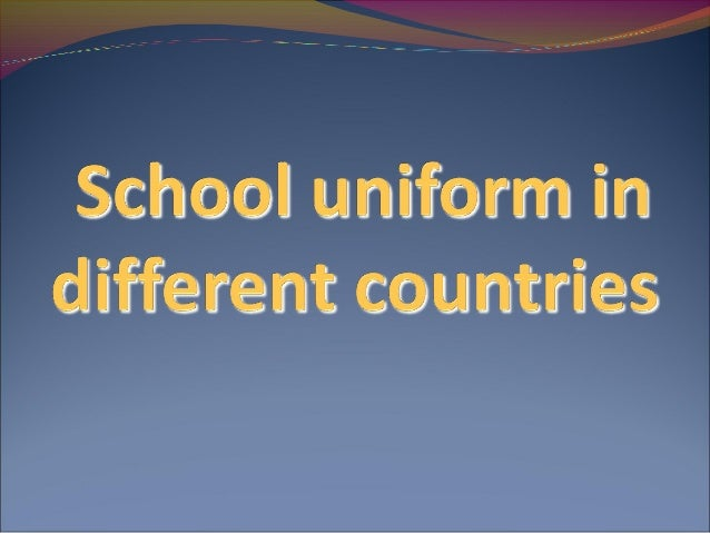 Uniforms take a role in began the fashion for Cambodia society today. Before, school uniform became free for students just...