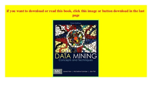Data Mining Concepts And Techniques Book