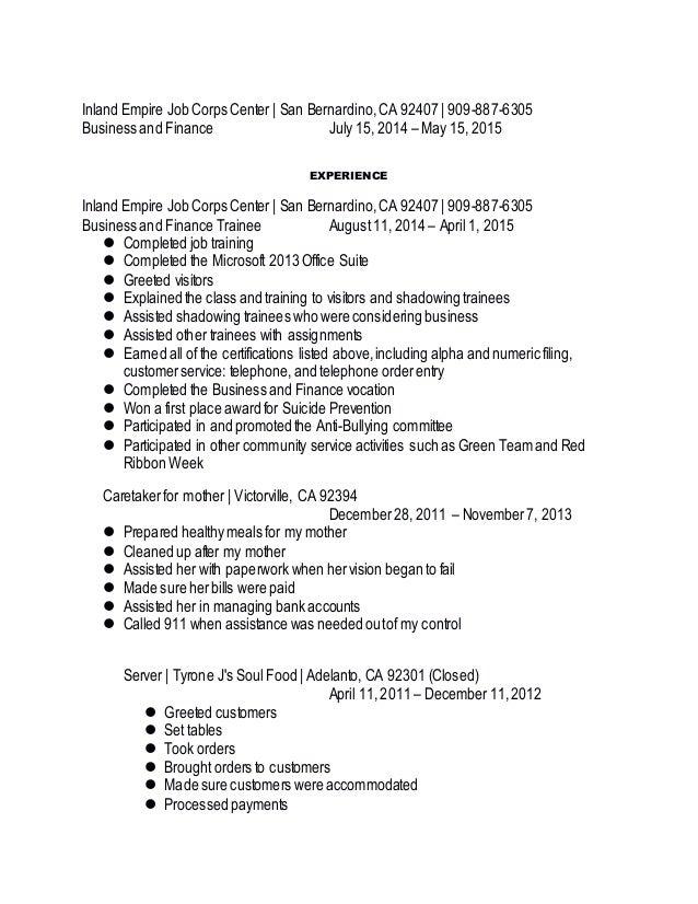 alyssa thomas resume update