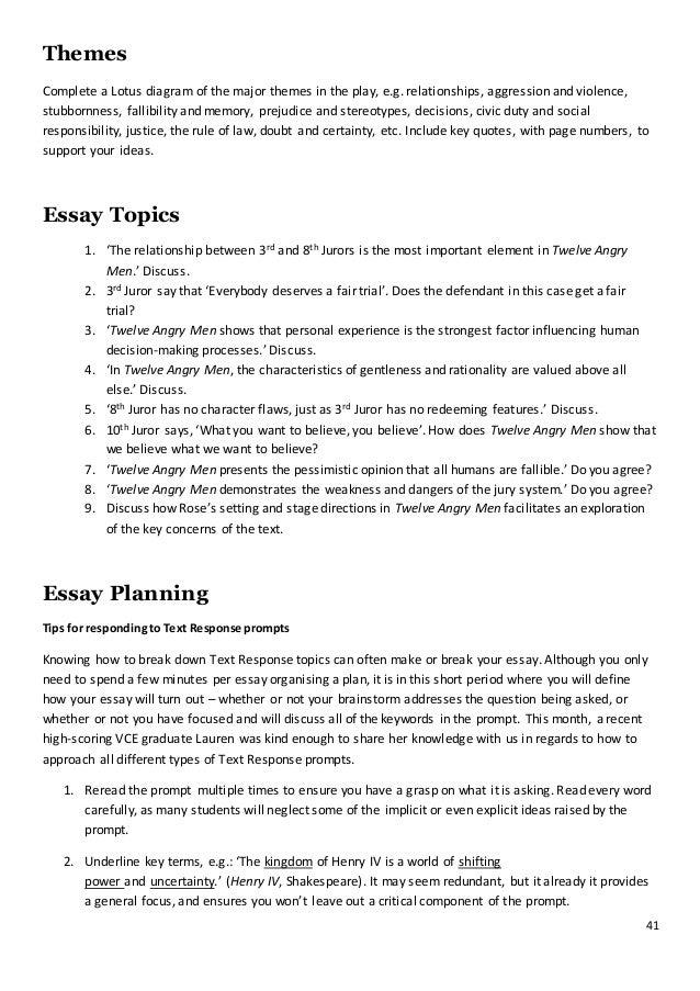 Examples Of Persuasive Essays For High School Twelve Angry Men  Business Ethics Essays also Literary Essay Thesis Examples What Is A Reflective Essay Paper  Ehow Twelve Angry Men Juror   What Is Thesis Statement In Essay