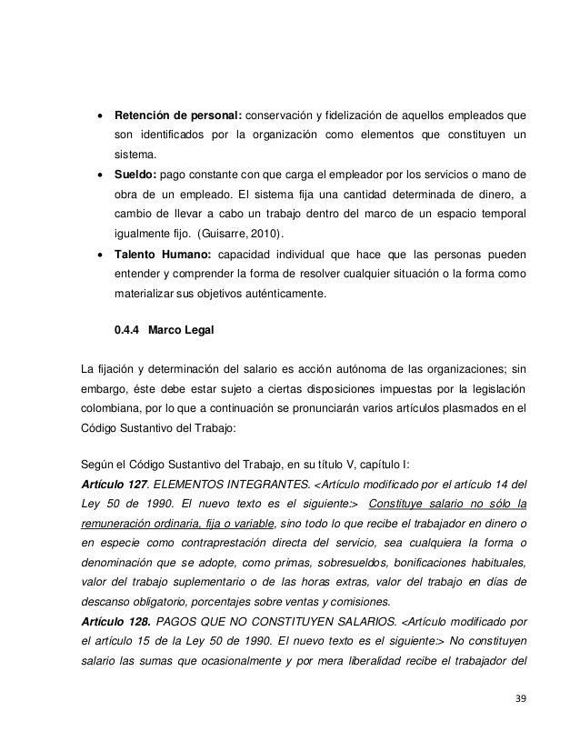 458 Ttg Diseño De Una Estructura De Compensación Salarial