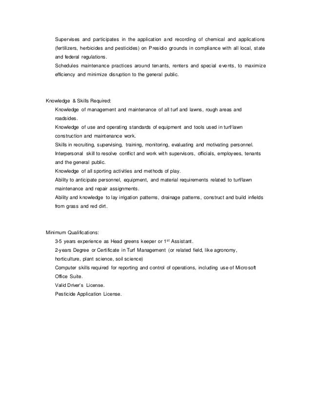 Construction Superintendent Job Description Construction