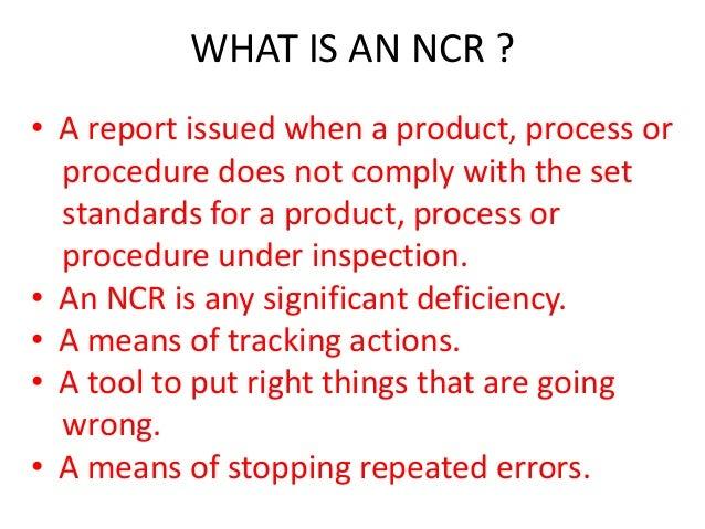 example of non conformance report - Monza berglauf-verband com