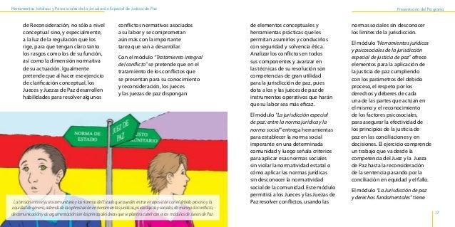 Herramientas Jurídicas y Psicosociales de la Jurisdicción Especial de Justicia de Paz 20 21 Presentación del Programa invi...