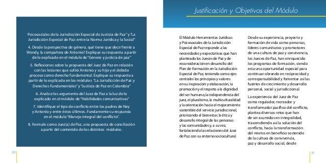 34 35 Justificación y Objetivos del Módulo por los derechos y deberes de cada una de las partes que actúan en el mismo, ta...