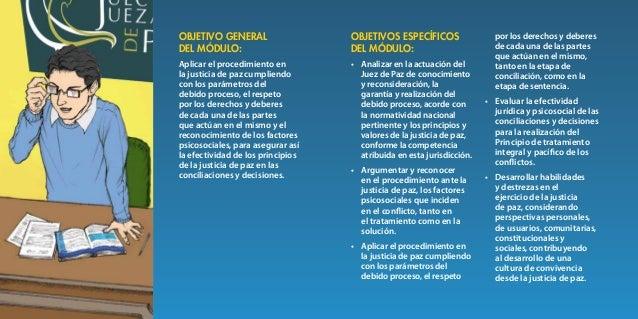 38 39 Competencia del Juez de Paz de conocimiento y de reconsideración Unidad 1 1.1 Perspectiva jurídica y psicosocial de ...