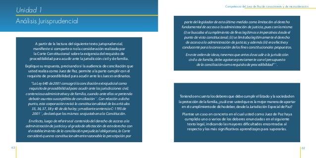 Herramientas Jurídicas y Psicosociales de la Jurisdicción Especial de Justicia de Paz 66 67 Competencia del Juez de Paz de...