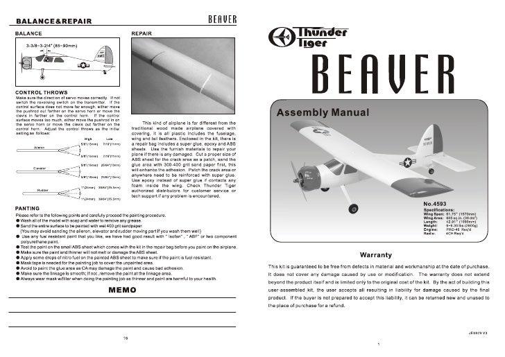 Manuale Beaver 40